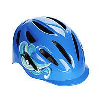Детский защитный шлем Explore PICO PRO синий S 52-56, фото 1