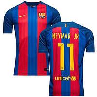 Футбольная форма Барселона Неймар (Neymar JR) 2016-2017 домашняя