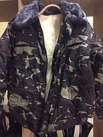Куртка ЗСУ летная на набивной овчине для низких температур