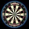Дартс мишень WINMAU DIAMOND Dartboard (advanced) сизалевая