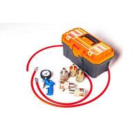 Комплект оборудования для восстановления и ремонта гидравлических (газо-масляных) амортизаторов 10шт