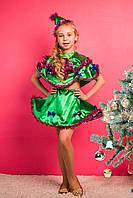 Детский новогодний маскарадный костюм Елочка. Арт-0001.