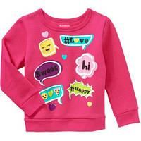 Малиновый свитер для девочек Garanimals Fleece 2 года