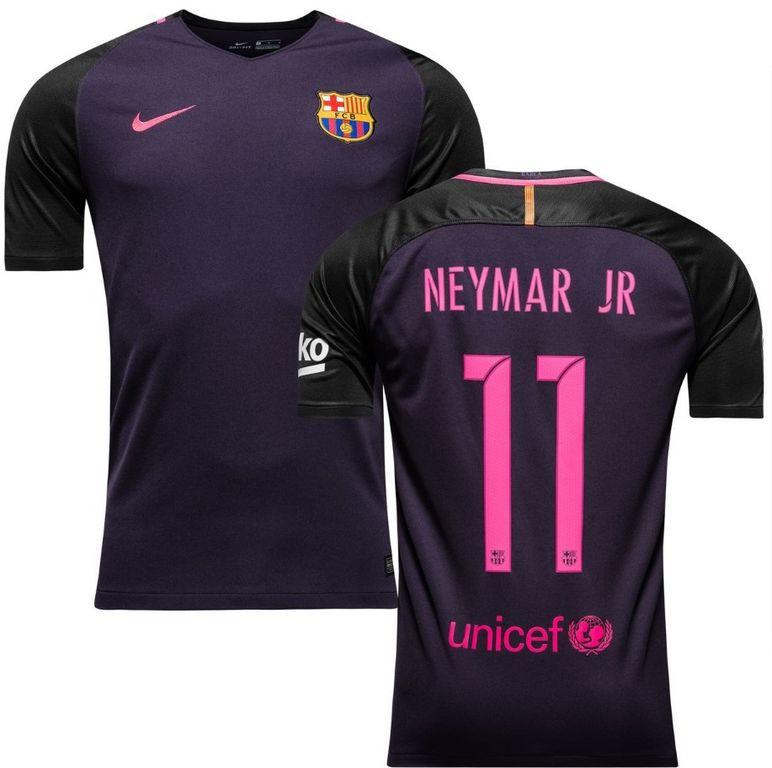 Футбольная форма Барселона Неймар (Neymar JR) 2016-2017 Выездная ... 37148da1dbf