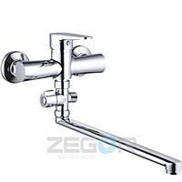 Смеситель для ванны длинный гусак, Z63-PUD6