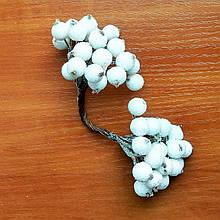 Ягоди в цукрі декоративні білі 12 мм