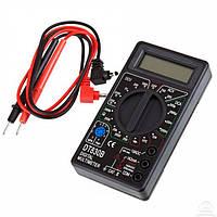 Мультиметр цифровий DT-830B, універсальний, перевірка транзисторів, тестер, вимірювання електрики, фото 1