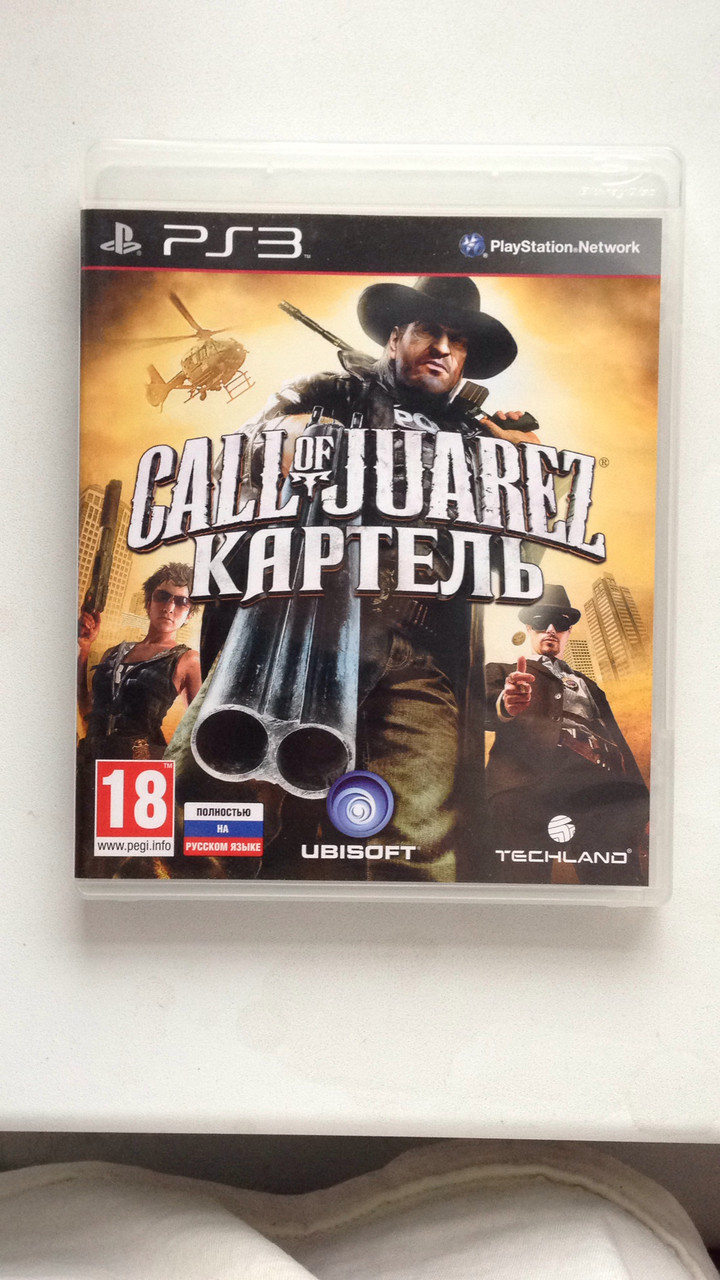 Call of Juarez: Каратель (PS3) pyc.