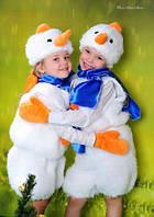 Детский новогодний костюм Снеговик. Арт-0003. Купить детский карнавальный, маскарадный костюм недорого
