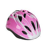 Детский защитный шлем Explore Tresor розовый М 56-58, фото 1