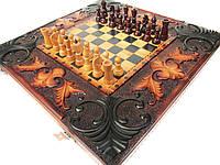 "Эксклюзивные шахматы-нарды ручной работы ""Маг"""
