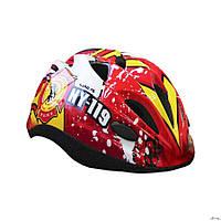 Детский защитный шлем Explore Tresor красный М 56-58