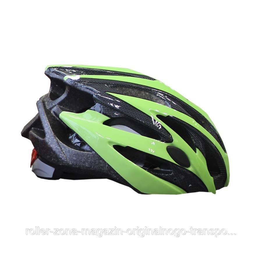 Детский защитный шлем Explore SCORPION зеленый S 52-56