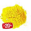 Фарба Холі (Гулал), Жовта, фасування 75 грам, суха порошкова фарба для фествиалів, флешмобів, фото