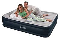 Двуспальная надувная кровать Intex 67736 (152Х203Х48)