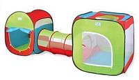 Детская игровая палатка 2 палатки в 1 с проходом!