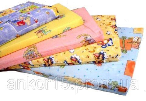 Матрац в дитяче ліжечко тришаровий (кокос+поролон+кокос) 120х60