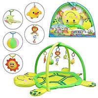 Детский мягкий развивающий коврик для малышей