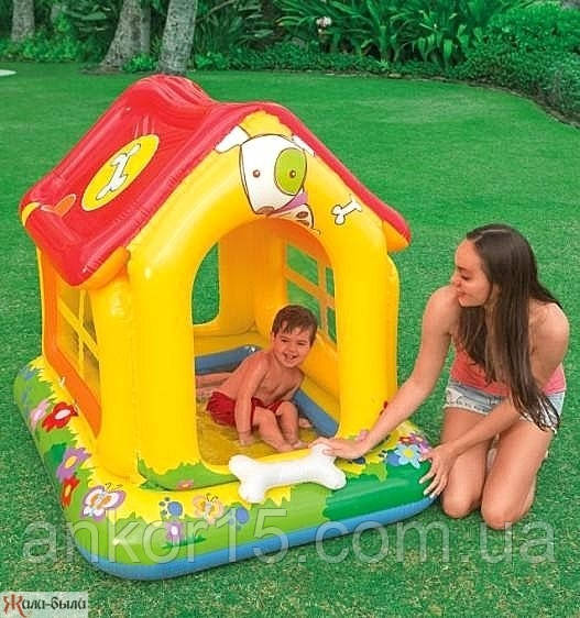 Детский надувной игровой центр-бассейн Intex 57429