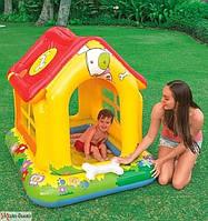 Дитячий надувний ігровий центр-басейн Intex 57429