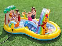 Игровой центр-бассейн Intex 57136 Винни Пух.
