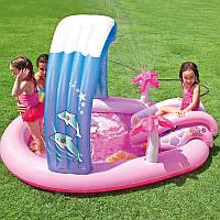 Игровой центр-бассейн Intex 57137 Hello Kitty.