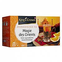 """Kings Crown Ayurvedischer Tee Чай """"Магия Востока"""" (Германия) 20 пакетиков"""