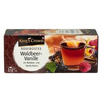 Kings Crown Фруктовый чай в пакетиках Лесные ягоды-Ваниль 25 шт. (Германия)
