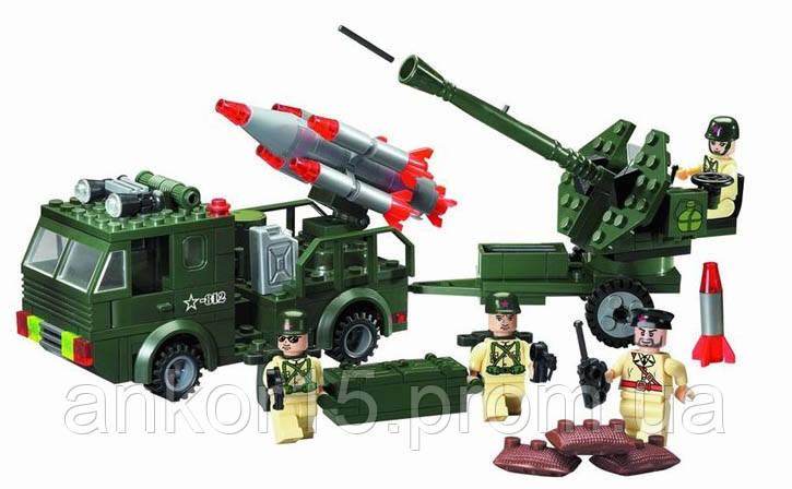 Конструктор Brick (812) Ракетниця, 242 деталі