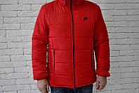 Куртка зимняя, мужская, идеально для зимы, Nike красный