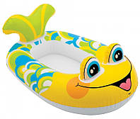 Лодка надувная Рыбка для малышей, арт.59380