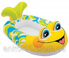 Човен надувний Рибка для малюків, арт.59380