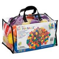 Мячики-шарики для сухого бассейна (100 шт) Intex 8см