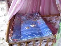 Пеленатор для детей на стол или детскую кроватку, фото 1
