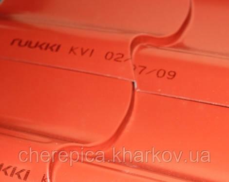 Металлочерепица Ruukki Monterrey Standart Matt PEMA 0,5 мм, фото 4