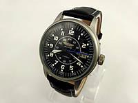 Советские старинные механические мужские часы Полет, Авиатор