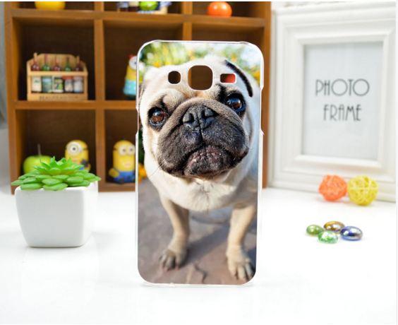 Силиконовый чехол для Samsung Galaxy J5 J500H с картинкой Фото собаки