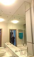 Большие зеркала для ванной комнаты с установкой.