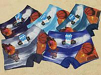 Трусики для мальчиков Боксеры Баскетбол