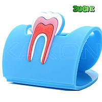 Визитница стоматолога, зубик