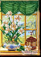 Набор для вышивания бисером За окном весна-1 АВ-455