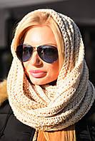 Шапка - шарф снуд с яркой нитью 8092/1 (ВИВ)