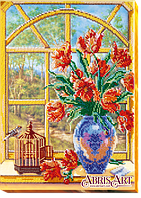 Набор для вышивания бисером За окном весна-2 АВ-456