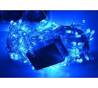 Новогодняя светодиодная гирлянда 100 LED синяя