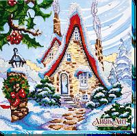 Набор для вышивания бисером Сказочная зима-1 АВ-457