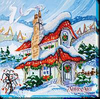 Набор для вышивания бисером Сказочная зима-2 АВ-458