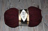 Лана голд класик меланж пряжа полушерсть для ручного вязания Ализе