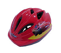 Детский защитный шлем Maraton Cool PRO М красный