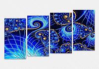 Схема для вышивания бисером Симфония Галактик (полиптих, серия «Элит») АР2-006