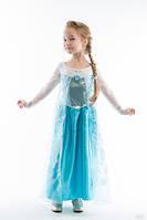 """Карнавальный костюм принцесса Эльза из м.ф. """"Холодное сердце"""" Frozen Elsa Deluxe Costume платье Эльзы Для девочек, Disney, Сказочные герои, Киногерои, 10-12 лет"""